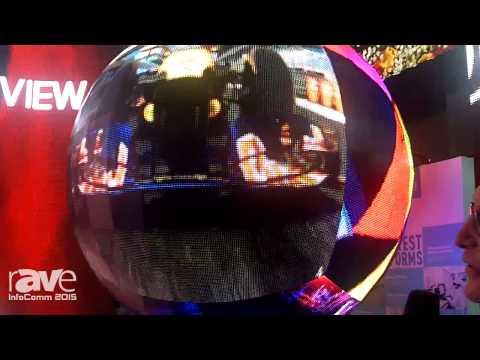 InfoComm 2015: Uniview Showcases 2m Sphere LED Signage