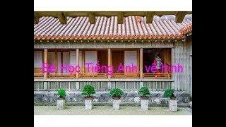 Vlog 6: Bé học Tiếng Anh, vẽ hình: Nhà bạn tại Nhật - Japanese Friend's House (Eng sub)