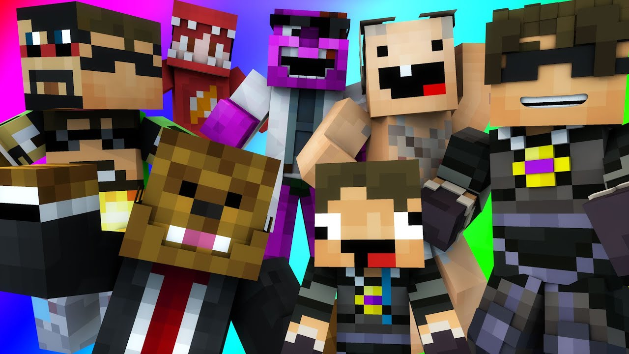 CREATING THE ULTIMATE YOUTUBER | Minecraft Do Not Laugh