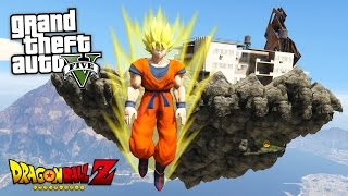 "GTA 5 Mods - DRAGON BALL Z ""SUPER SAIYAN GOKU"" MOD!! GTA 5 Dragon Ball Z Mod! (GTA 5 Mods Gameplay)"
