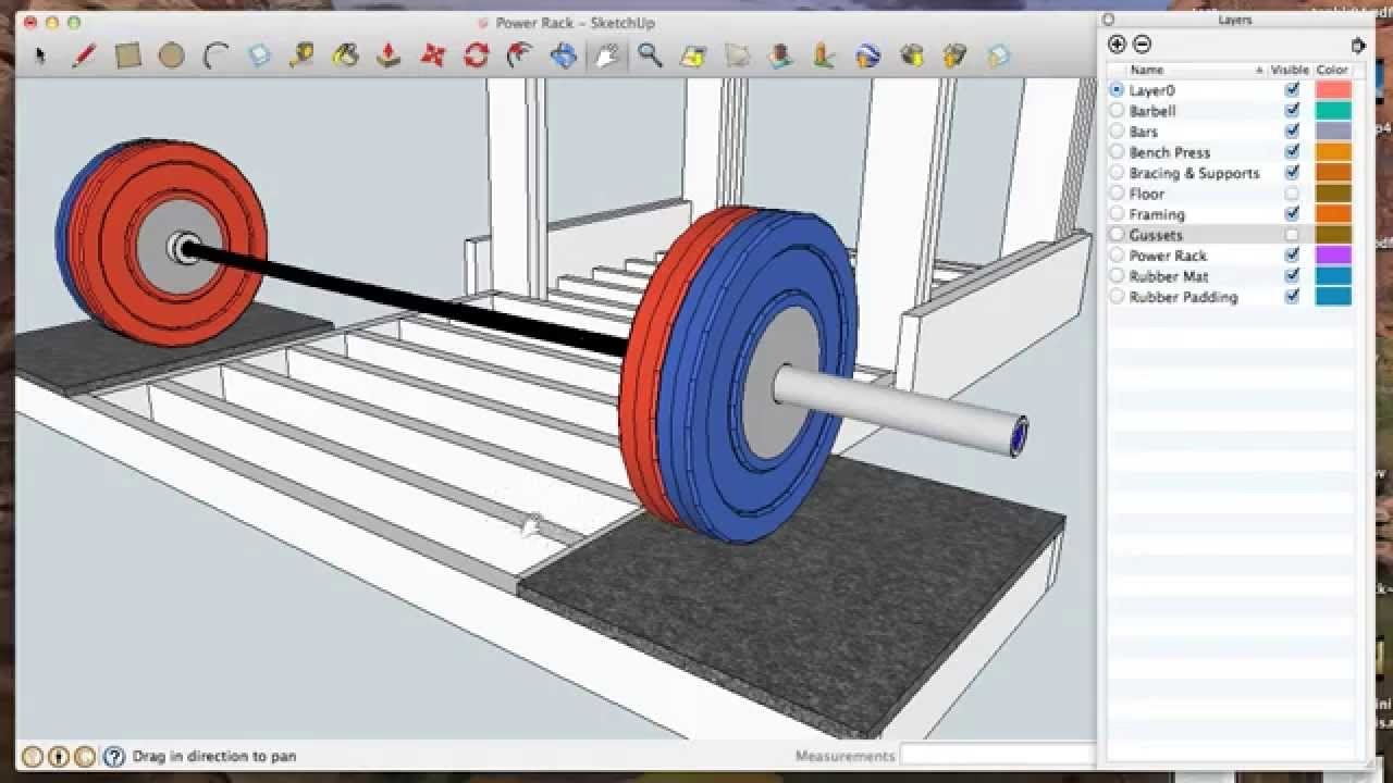 Diy Power Rack For Strength Training Dead Lift Squat