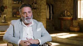 "MAMMA MIA! 2 Here We Go Again ""Cienfuegos"" Andy Garcia On Set Interview"