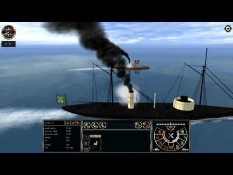 The Monitor vs the Merrimac (CSS Virginia) - American Civil War - Ironclads Review