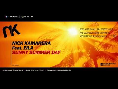 Nick Kamarera feat. EiLA - Sunny Summer Day (Lyric Video)