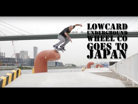 Underground Wheel CO Goes Japan