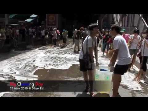 Big Cleaning Day @ Silom Rd.