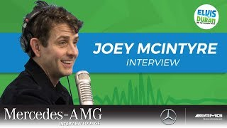 Joey McIntyre on Starring on Broadway | Elvis Duran Show