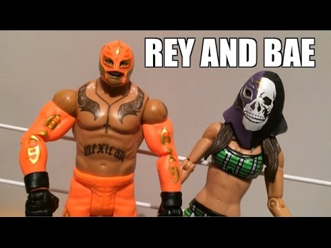 Wwe Action Insider: Rey Mysterio Summerslam Heritage Mattel Superstars Series Wrestling Figure Toy! video