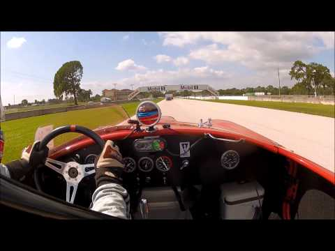 2012 Sebring Historics Lorne Leibel 1965 Shelby Cobra #8 - Feature Rac