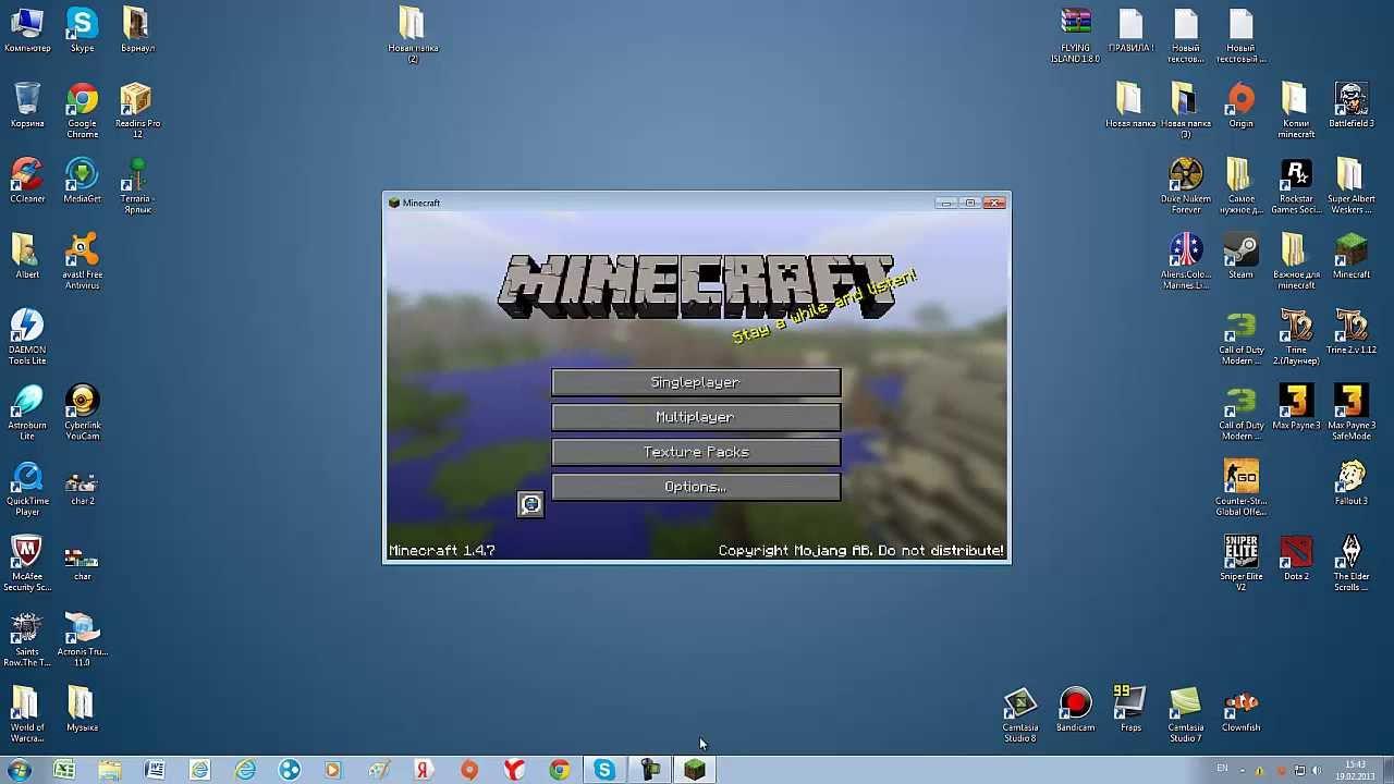 minecraft forge 1 7 2 как установить