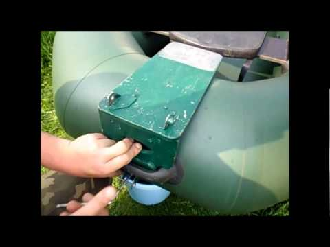 как правильно установить лодочный мотор на резиновую лодку