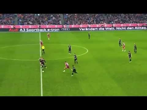 Xabi Alonso vs Freiburg 17/12/14