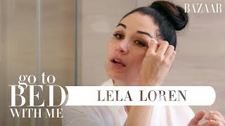 Download Lagu Lela Loren's Nighttime Skincare Routine | Go To Bed With Me | Harper's BAZAAR Gratis STAFABAND