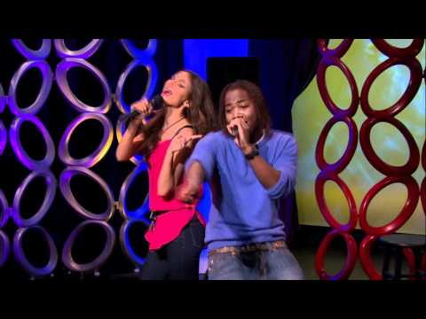 """Tori and Andre """"Make it Shine"""" for the new principal with a remix of the Victorious theme song! Watch Victorious on Nickelodeon."""