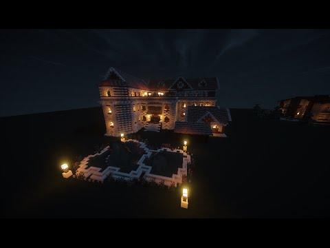 Быстрая постройка дома! часть 1