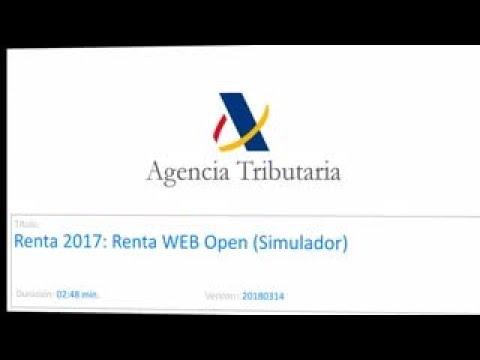 Renta WEB Open: cómo hacer una simulación de la declaración de la renta