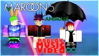 Maroon 5 - Animals ROBLOX Music Video