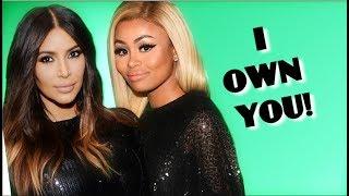 Kim Kardashian PUTS BLAC CHYNA IN CHECK  despite KKW Beauty Drama