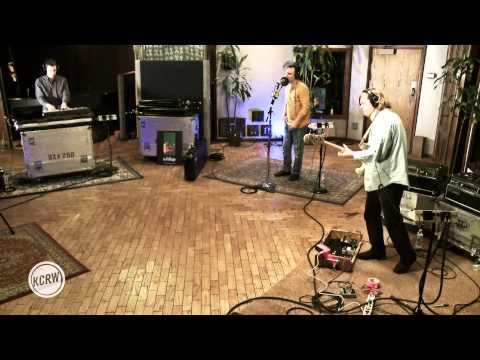 """Future Islands performing """"One Day"""" Live on KCRW"""