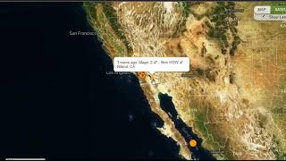 Earthquake Swarm Hits Southern California, Mid Level Quake Strikes Gulf