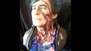 An American Werewolf in London Life size Jack Goodman bust