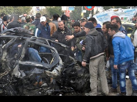Syria News 21/1/2015, 6 civilians killed, dozens injured in terrorist car bomb blast in Homs city