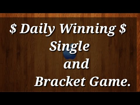 Single & Bracket Game 15 June 2018..