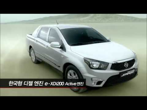 NUEVO SSANGYONG NEW ACTYON SPORT CHILE. AUTOS SSANGYONG