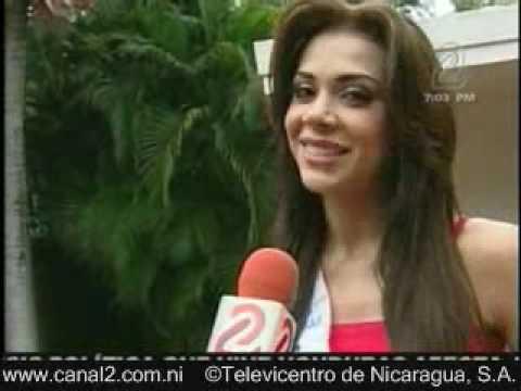 Indiana sanchez miss Nicaragua 2009