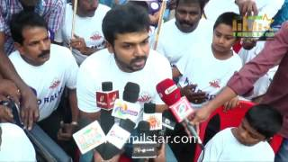 Karthi At MAYO Rally