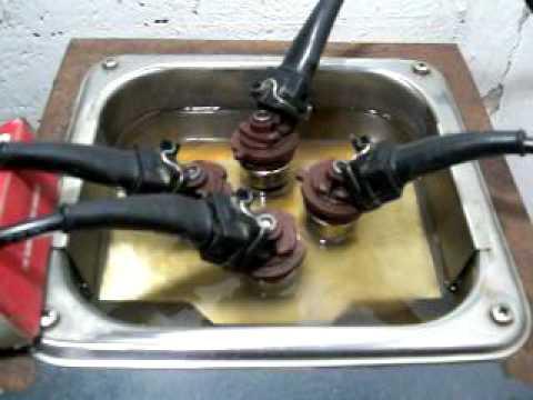 Liquido para ultrasonido de inyectores