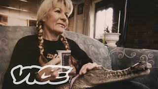 The Lady Who Lives With Crocodiles
