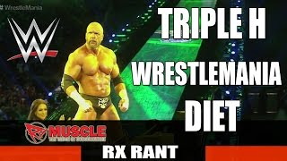 TRIPLE H Diet Secrets Revealed!