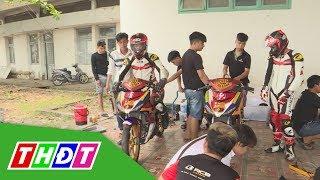 """""""Hậu kỳ"""" chuẩn bị của các tay đua tham gia Giải đua xe môtô cúp vô địch quốc gia 2019   THDT"""
