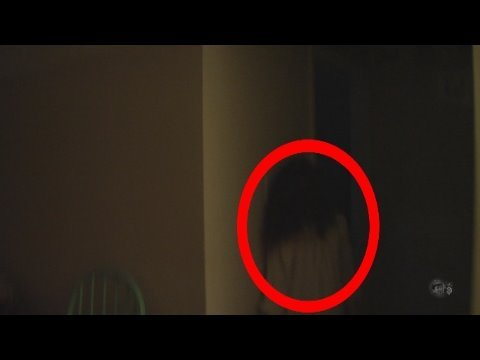 REAL Ghost girl caught on camera