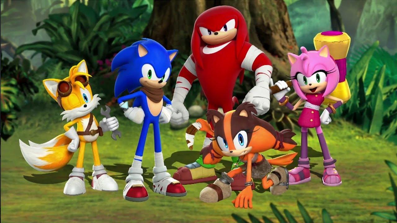 Sonic Boom tv Series Characters Sonic Boom Sticks Character