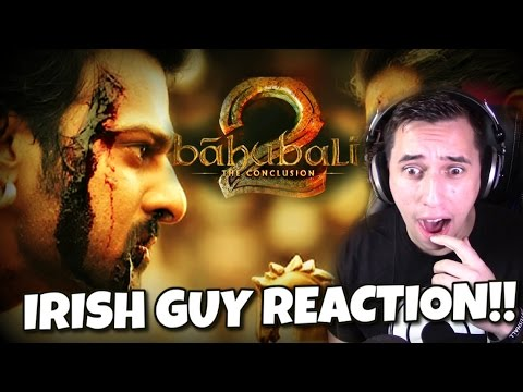 Baahubali 2 - The Conclusion   Official Trailer (Hindi)   S.S. Rajamouli REACTION FROM IRELAND!!