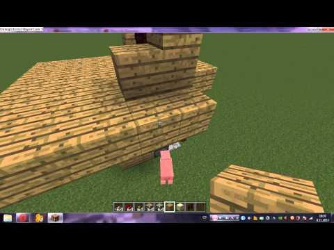 minecraft 1 7 2 padací brana o velikosti 3x3