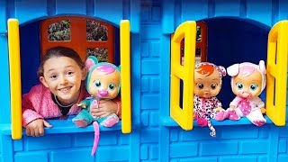 Öykü'nün Bebekleri Kayboldu - Kid Playing with Baby Doll Videos for children - Funny Oyuncak Avı