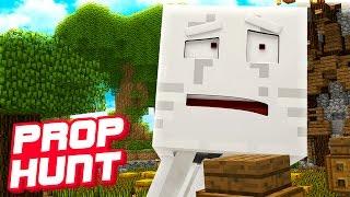 DAS DÜMMSTE VERSTECK! | Minecraft Prop Hunt