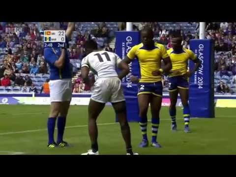 Sri Lanka Vs Barbados Commonwealth Games Rugby 7's 2014 video
