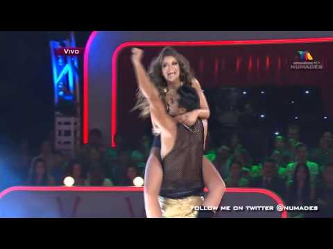 vanessa claudio - rompe (2013-6-1 mexico baila) - YouTube