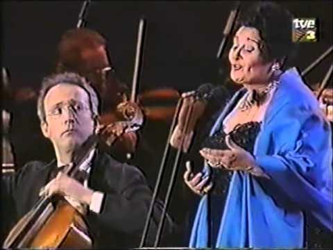 Victoria de los Angeles.TV.LICEU FIRE BENEFIT GALA.El cant dels ocells.BARCELONA.1994. Claret.