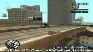 GTA San Andreas - Salto Único #17 Cruce de Mulholland, Los Santos - MQ