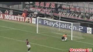 Highlights AC Milan 2-1 Lens - 18/9/2002