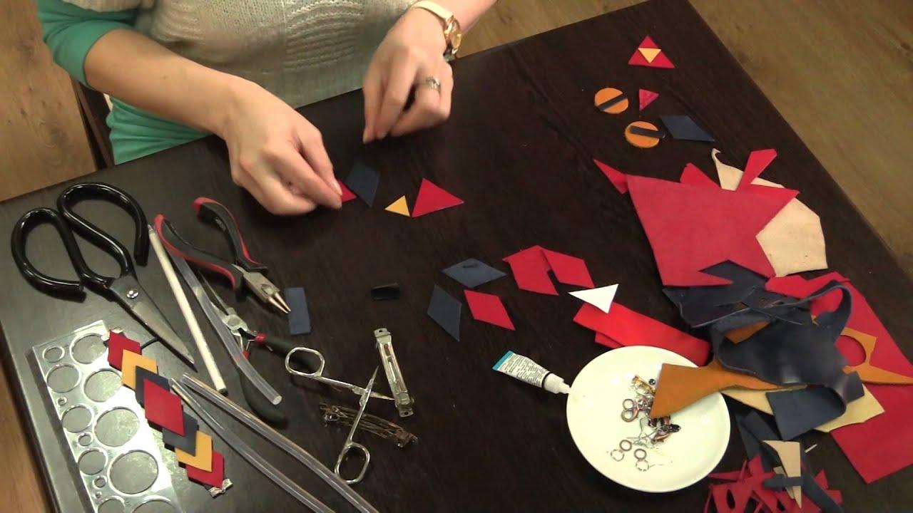 Как научиться делать изделия из кожи своими руками 86