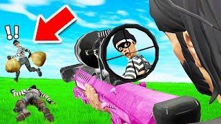Fortnite SNIPERS vs THIEVES *NEW* Custom Gamemode (Fortnite Creative)