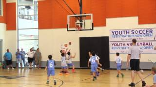YMCA Basketball Playoff - GAMES 1 - 3