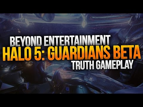 Halo 5: Guardians Beta B-Roll Gameplay [Truth]