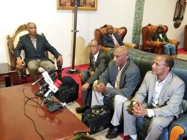 A Tigray People's Democratic Party delegation led by Dr. Aregawi Berhe has arrived in Addis Ababa